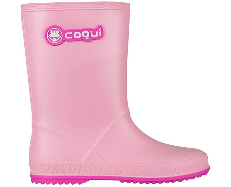 Coqui Dětské holínky Rainy Pink/Fuchsia 8506-100-4105
