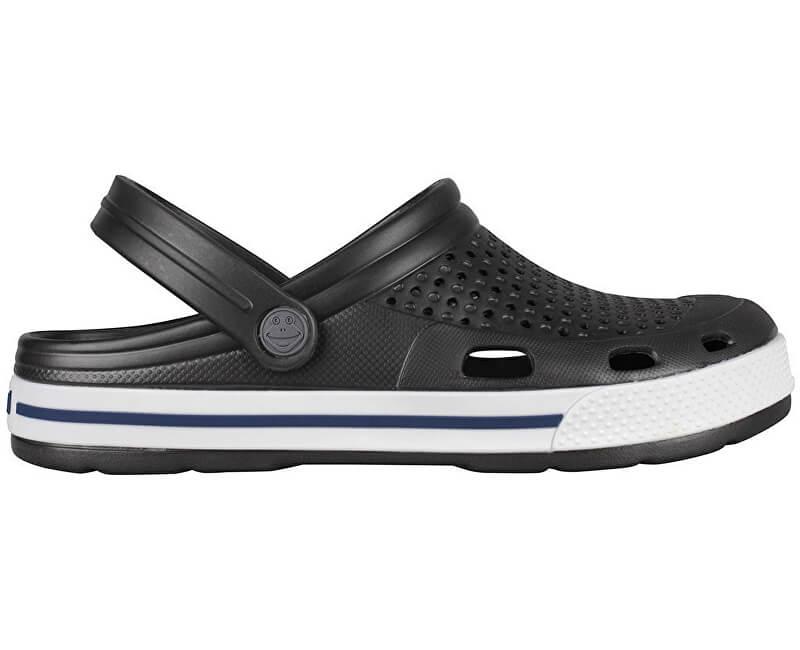 Coqui Pantofi pentru bărbați Lindo Antracit/White 6403-100-2432