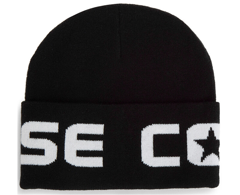 Converse Čepice Embroidered Watchcap Knit Converse Black