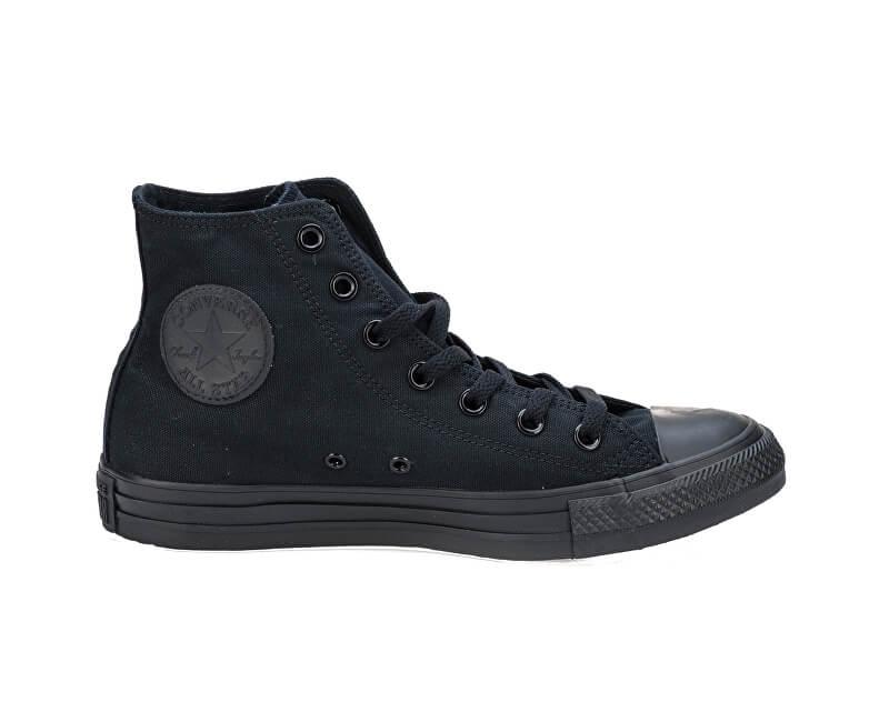 Converse Kotníkové tenisky Chuck Taylor All Star Black Monochrome