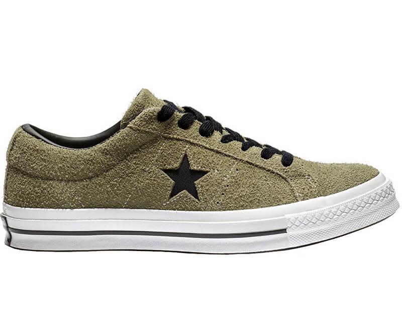 Converse Pánské tenisky One Star Hunter Green/White