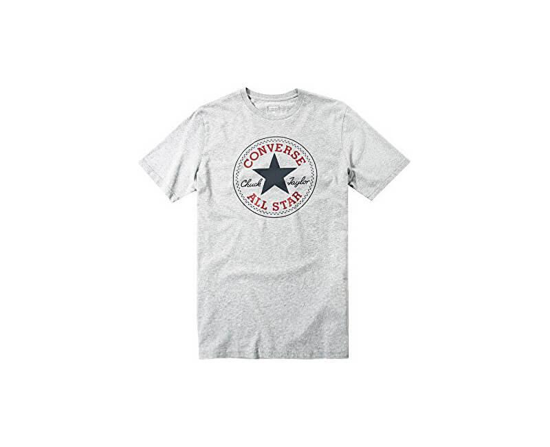 426d849dbbd Converse Pánské triko Core Chuck Patch Tee Vintage Grey Heather ...