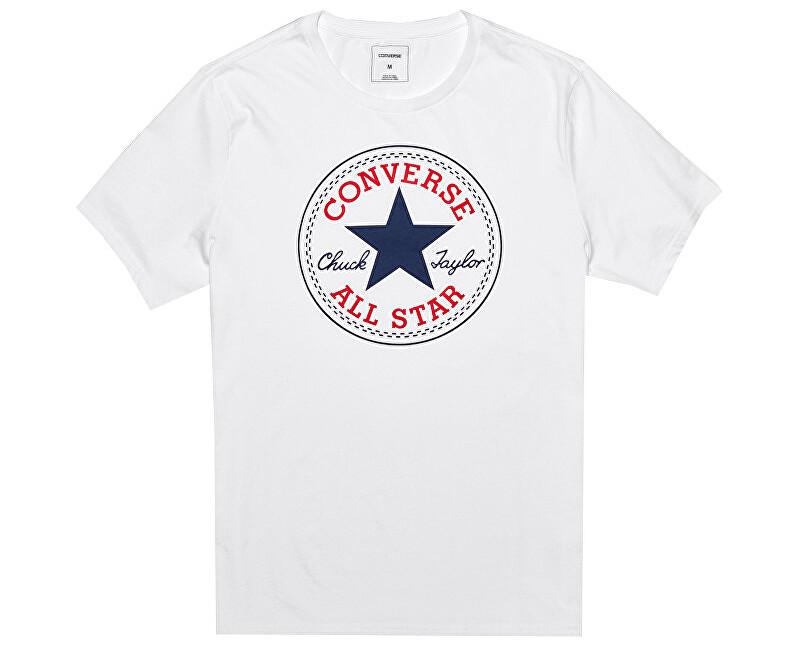 Converse TricouCore Chuck Patch Tee White pentru bărbați