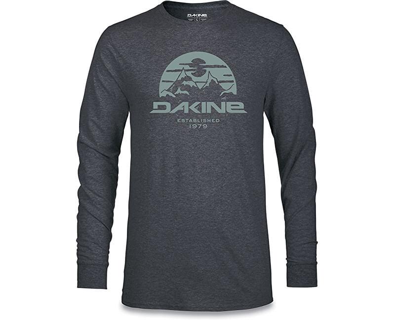 Dakine Pánské tričko Yoder L/S Tech T Heather Black 10001520-W18