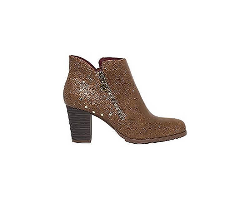 Desigual Dámské kotníkové boty Shoes Frida Winter Valkiria Choco 18WSAP02 6029