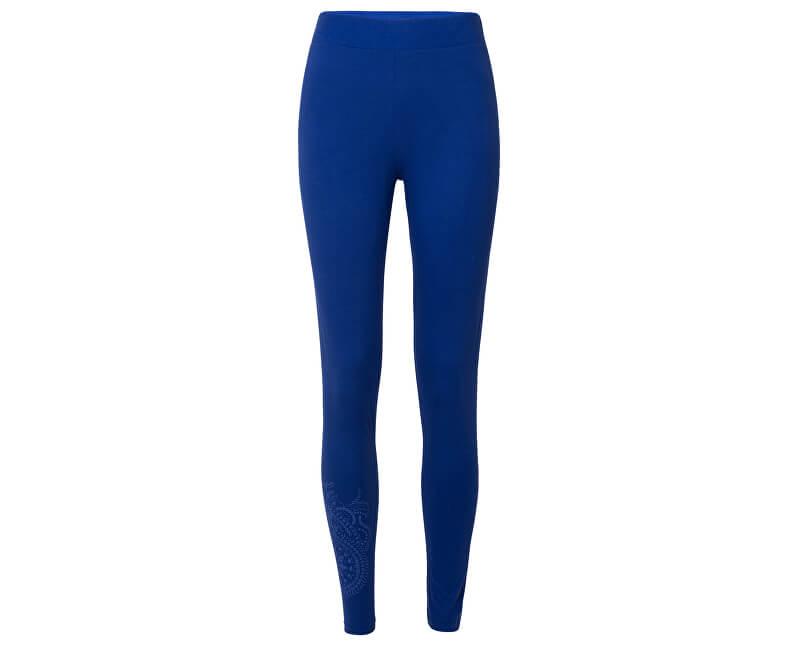 Desigual Dámské legíny Legging Fresia Azul Klein 19SWKK03 5036