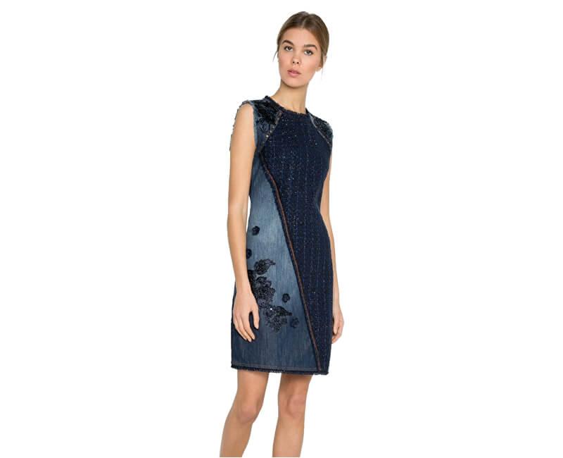 Desigual Dámské šaty Vest Achille 17WWVD05 5008