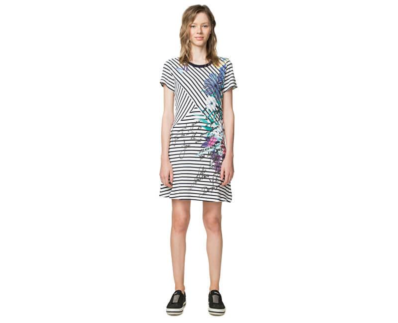 Desigual Dámske šaty Vest Alfredo 18SWVK07 1000 Doprava ZDARMA ... 09c75cc4328