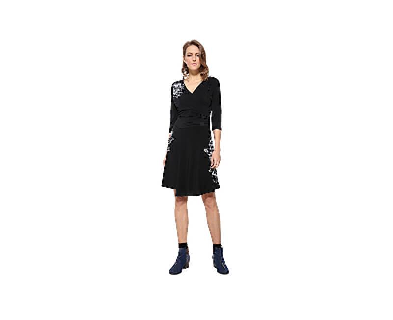 Desigual Dámské šaty Vest Alison 17WWVK45 2000