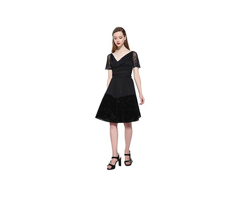 Desigual Dámské šaty Vest Betty 17WWVK68 2000