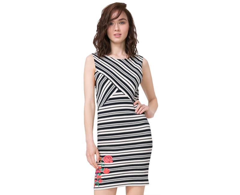Desigual Dámské šaty Vest Four 72V2YG0 1000 ... 9753c0f760
