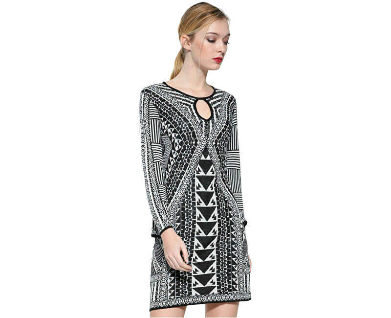 dfb188b99bf Desigual Dámské šaty Vest Hayley 17WWVF21 1001 Doprava ZDARMA ...