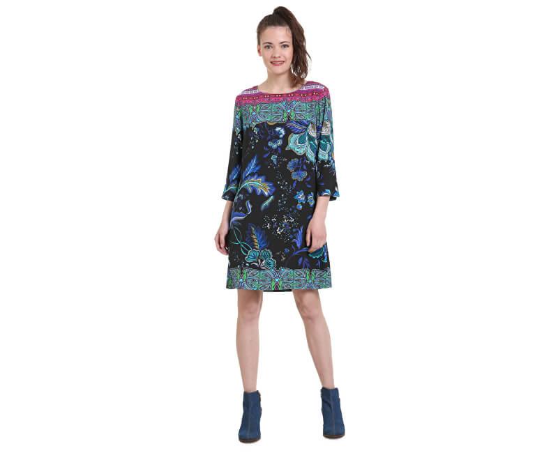 Desigual Dámské šaty Vest Killpop Negro 18WWVW93 2000 Doprava ZDARMA ... 899ccb26c11