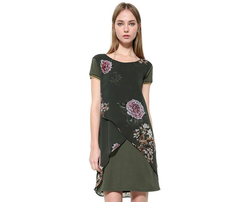 Desigual Dámské šaty Vest Kina 17WWVW82 4007