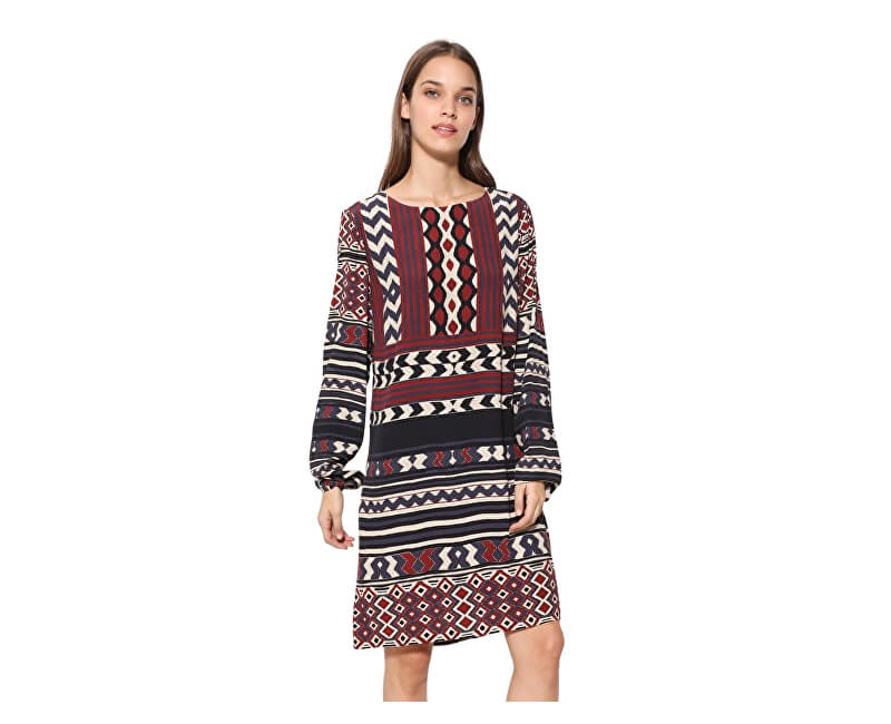 Desigual Dámské šaty Vest Marfil 17WWVW77 1003