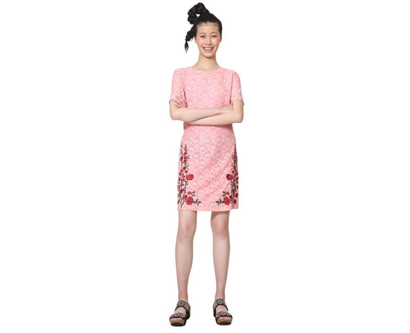 e2e076c92878 Desigual Dámske šaty Vest Nakata Coral 19SWVW79 7019 Doprava ...