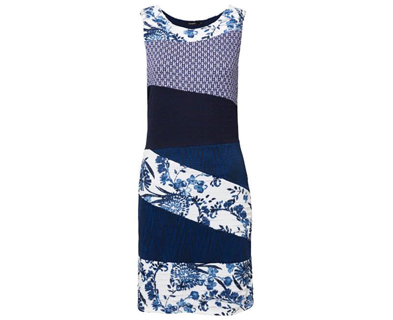 Desigual Dámské šaty Vest Olivia Marino 19SWVKA7 5001