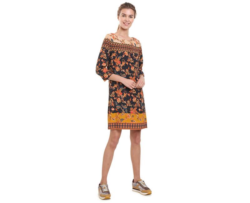 1ee870ec8e6 Desigual Dámské šaty Vest Paula Negro 18WWVW30 2000 Doprava ZDARMA ...