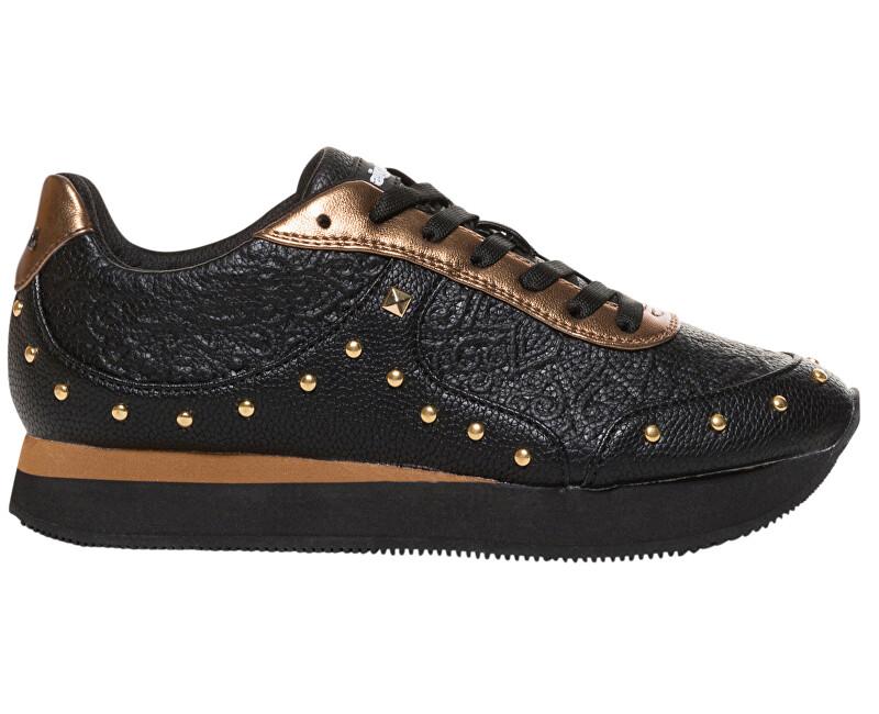 Desigual Dámské tenisky Shoes Galaxy Winter Valkiria Negro 18WSKP22 2000 ... cf189dc02c