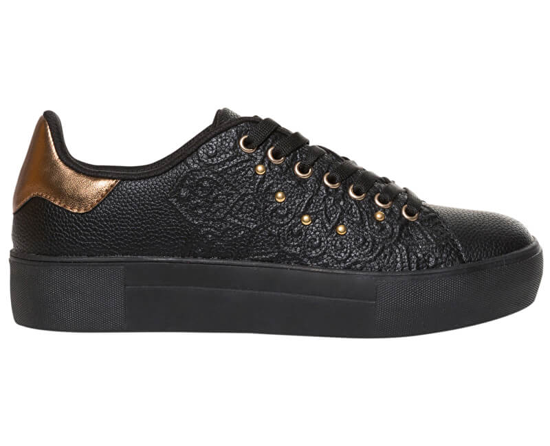 Desigual Dámské tenisky Shoes Star Winter Valkiria Negro 18WSKP17 2000