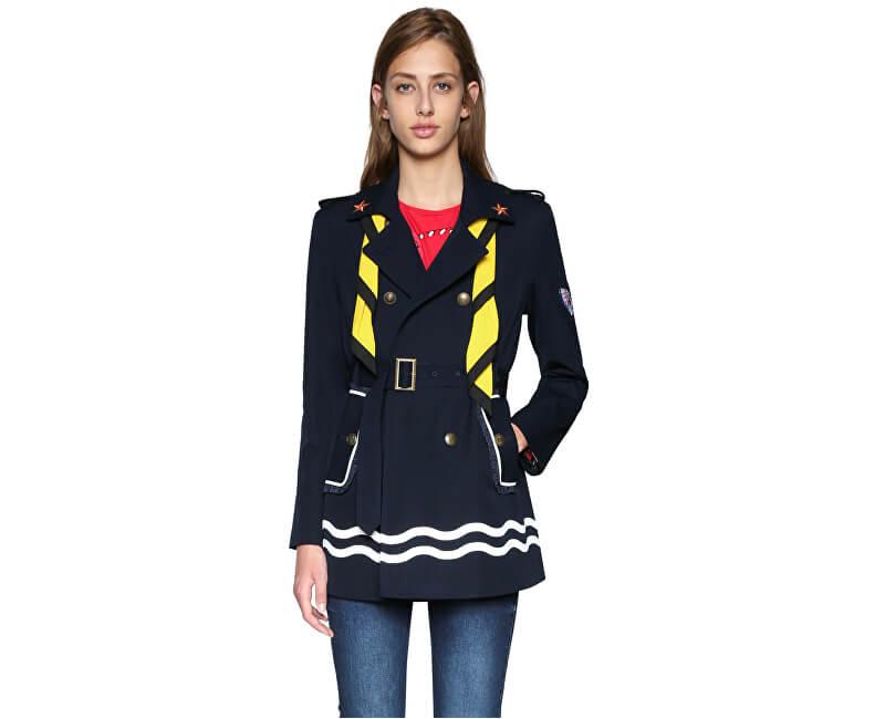 Desigual Dámský kabát Abrig Morgane 18SWEW83 5001 Doprava ZDARMA ... d2a07bb2de