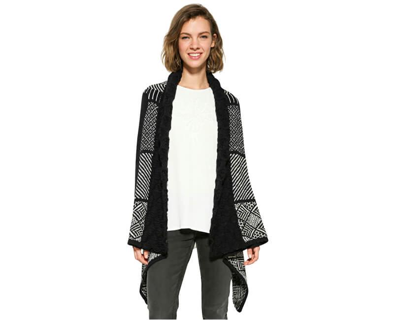 Desigual Doamnelor pulover Jers Menta 17WWJFG7 5001