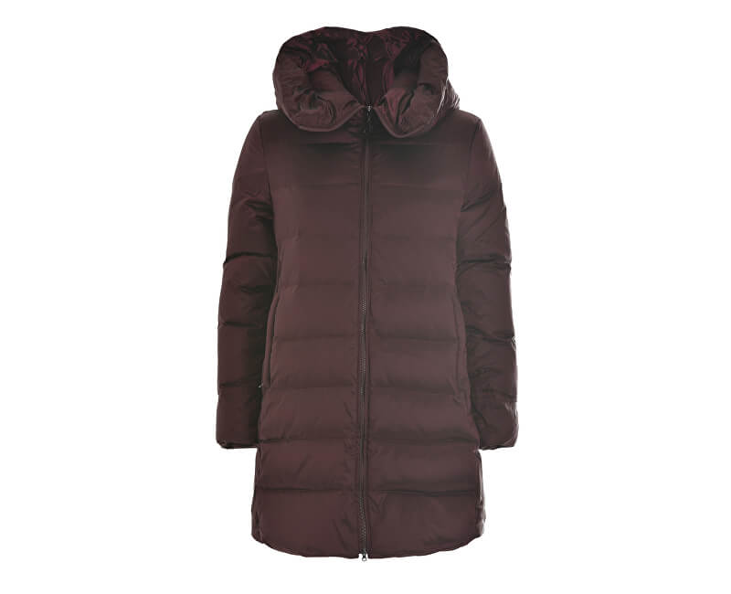 Deha Dámská bunda Long Down Jacket B64462 Marshala/Anthracite