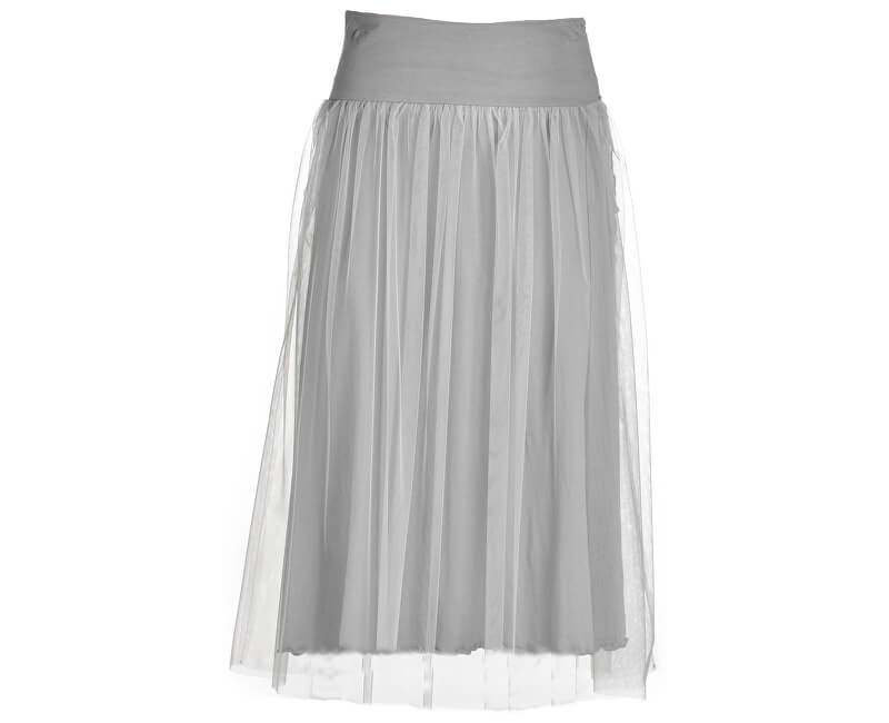 c755e3f93103 Damen Rock Side Knotted Skirt B74055 Pearl Gray