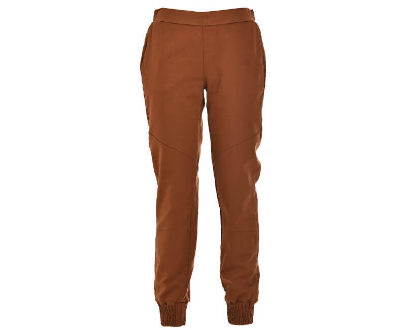 Deha Dámské kalhoty Jogger Pants D63325 Leather Brown