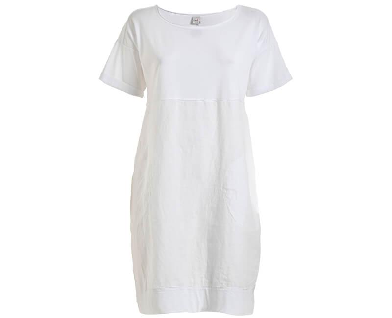 c2490a3f1338 Deha Dámske šaty Tee Dress D73030 White Doprava ZDARMA