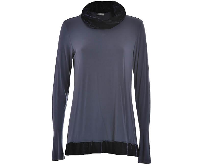 Deha Dámské triko High Neck L/S T-shirt D63470 Purple Grape