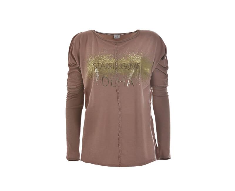 Deha Dámské triko Long Sleeve T-shirt B64261 Rose Blush