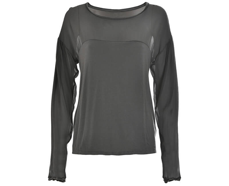 Deha Dámské triko Long Sleeve T-shirt D63350 Iron Grey