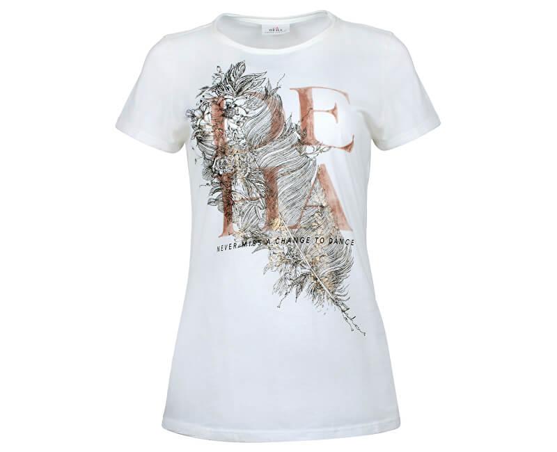 Deha Dámské triko T-Shirt B84150 Snow Doprava ZDARMA  5581fcb076