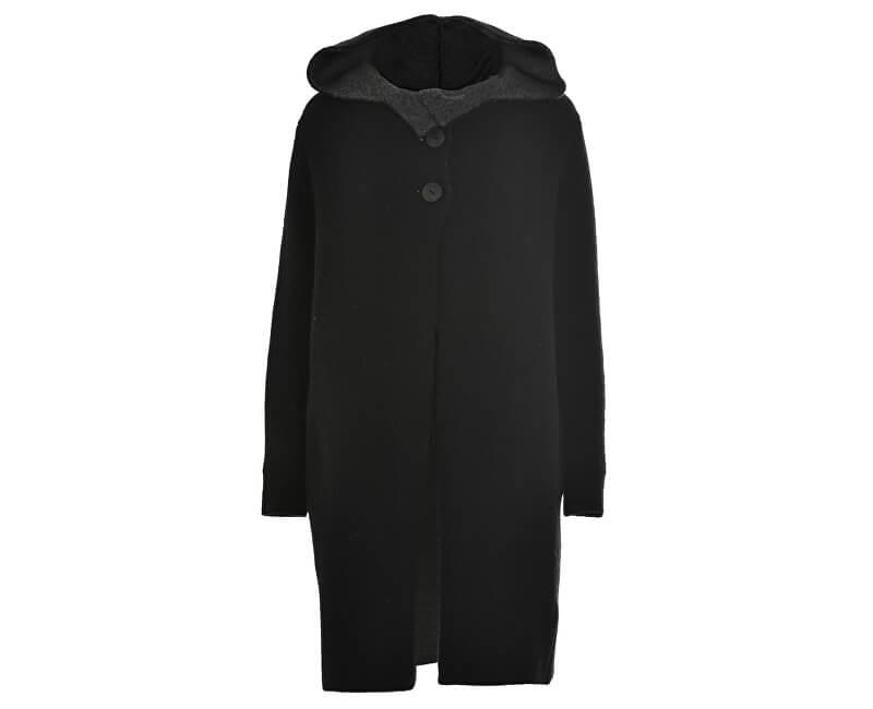 Deha ZĽAVA - Dámsky kabát Coat D63171 Black