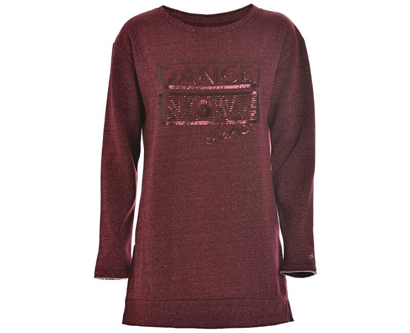 Deha Dámský svetr Maxi Sweatshirt D63670 Black