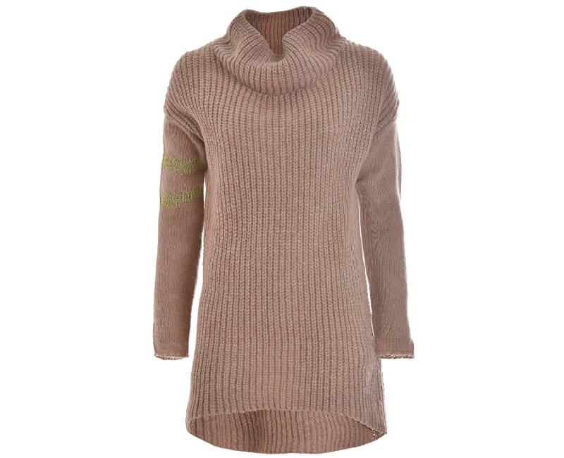 Deha Dámský svetr Knitted Sweater B64420 Rose Dust