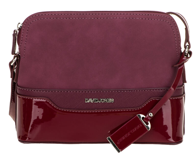 e82f588da6 David Jones Dámska crossbody kabelka Dark Bordeaux 5808-1 Novinka