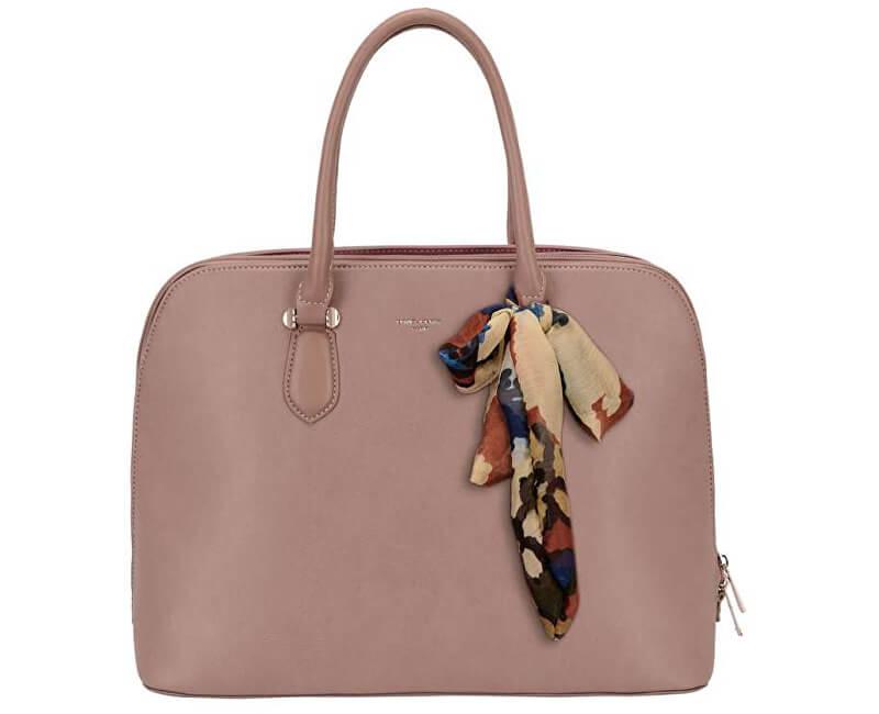 c204cbd39b David Jones Dámska elegantná kabelka Dark Pink CM4045