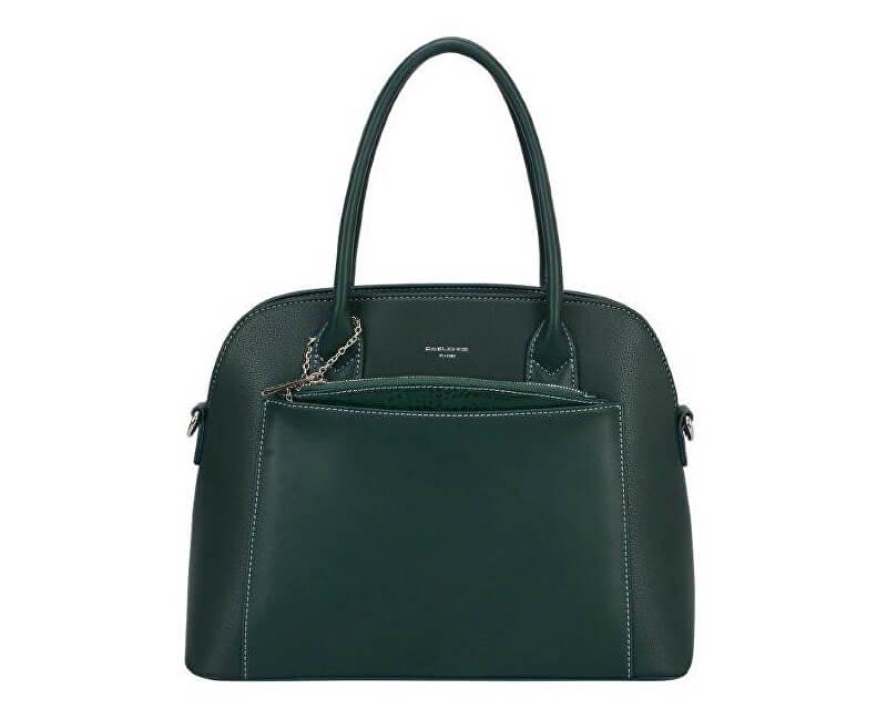 David Jones Handbag Dark Green 6105-1