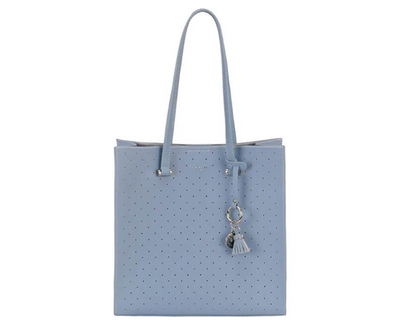 David Jones Dámská kabelka Light Blue 5902-2