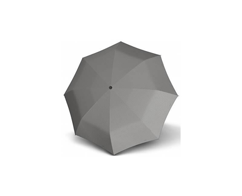 Doppler Dámský skládací mechanický deštník Carbonsteel mini slim chic - šedá 722651D03