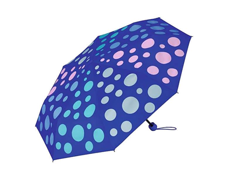 Esprit Dámský skládací mechanický deštník Super Mini Spectrum Blue