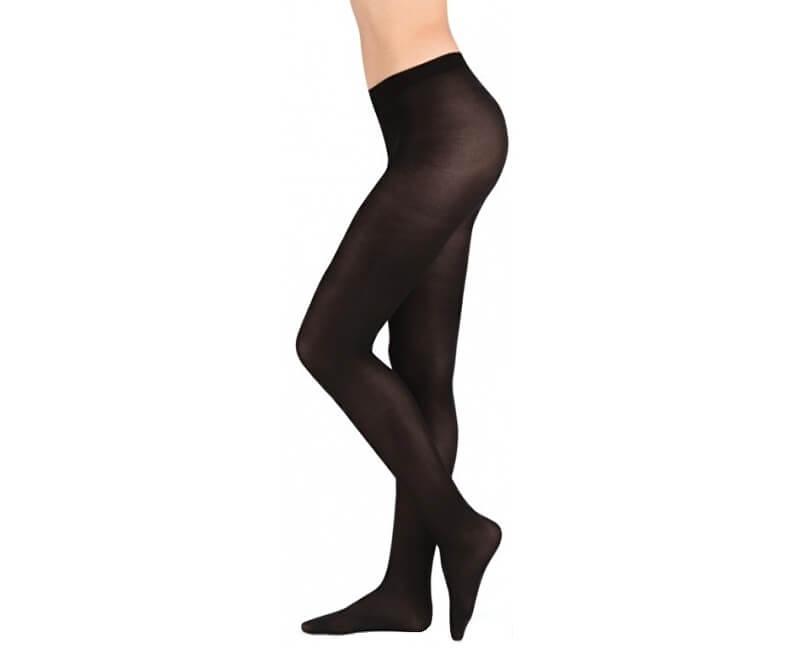 Evona Pantaloni elastici negri pentru femei, Star 512047-999