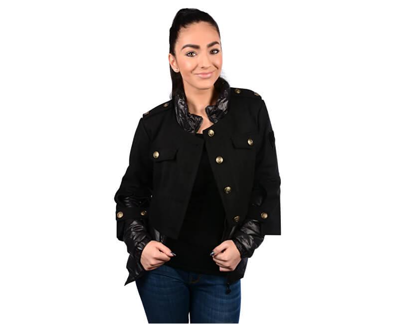 Fornarina Dámská bunda Slot - Black Jacket BI183F26N30600