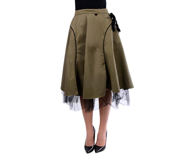Fornarina Dámská sukně Helsie - Army Skirt BI182C28G29531