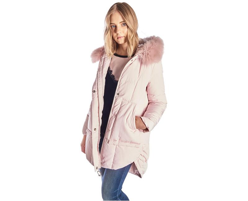 Fornarina Dámská zimní bunda Coline - Pink Jacket BI183F01N30166