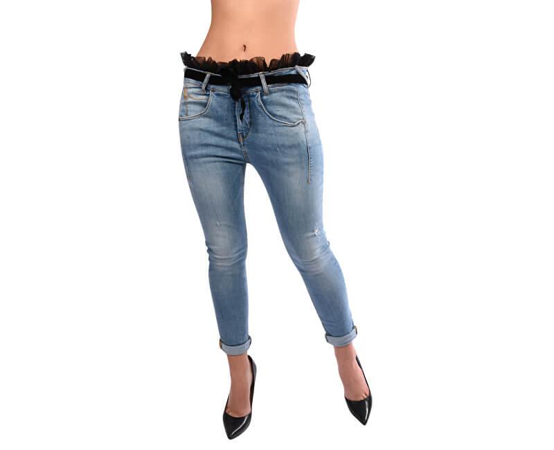 Fornarina Dámské kalhoty Sampey - Denim Pant BI181M21D894ZB