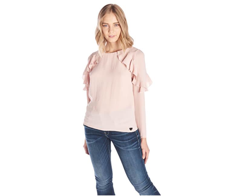 Fornarina Dámská halenka Anica - Antic Rose Shirt BI184585CA23C5