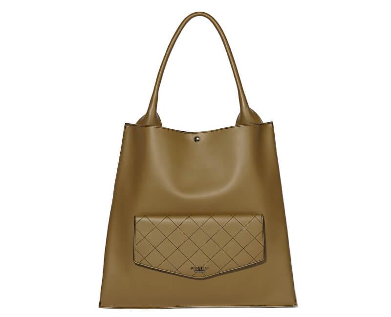 Fiorelli Elegantní kabelka Penton FH8726 Olive Quilt
